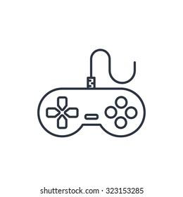 Gamepad vector icon