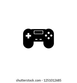 gamepad vector icon. gamepad sign on white background. gamepad icon for web and app