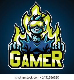 Royalty Free Gamer Logo Stock Images Photos Vectors Shutterstock