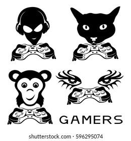 Gamer signs.