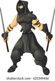 Gaming character ninja