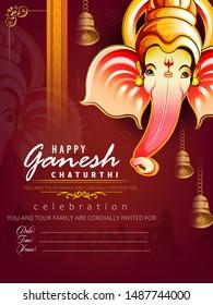 Royalty Free Ganesha Invitation Stock Images Photos