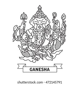 Ganesha Lord of Success.