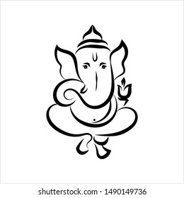 Ganesha Sketches Images Stock Photos Vectors Shutterstock