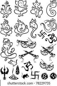 Ganesha & Wedding Symbols