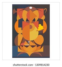 Imagenes Fotos De Stock Y Vectores Sobre Ganpati Painting