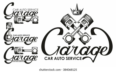 Garage Logo Images Stock Photos Vectors Shutterstock