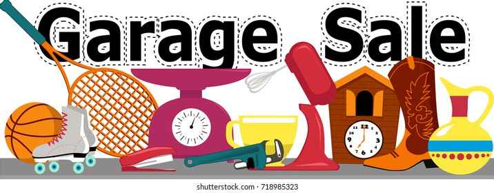 Image result for garage sale items