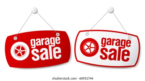 on sale signs