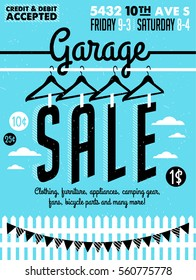 image regarding Printable Garage Sale Signs identified as Garage Sale Illustrations or photos, Inventory Visuals Vectors Shutterstock