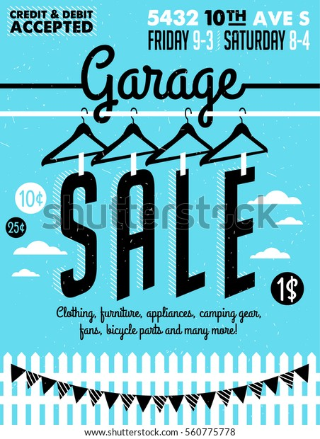 graphic relating to Printable Yard Signs named Garage Backyard Sale Symptoms Box Residence Inventory Vector (Royalty