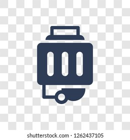 garbage disposal icon. Trendy garbage disposal logo concept on transparent background from Electronic Devices collection