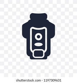 garbage disposal transparent icon. garbage disposal symbol design from Electronic devices collection.