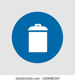 Garbage icon. Editable  Garbage icon for web or mobile.