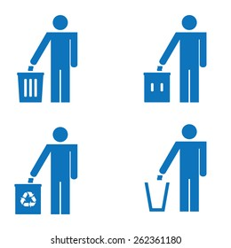 Garbage Recycling Sign