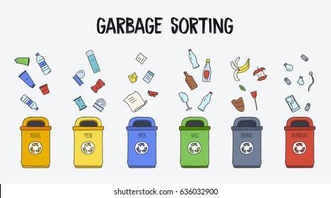 Garbage Sorting Images Stock Photos Amp Vectors Shutterstock