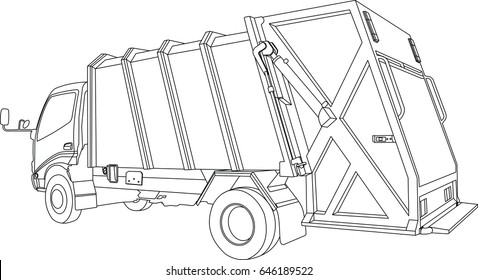 royalty free garbage truck images stock photos vectors shutterstock