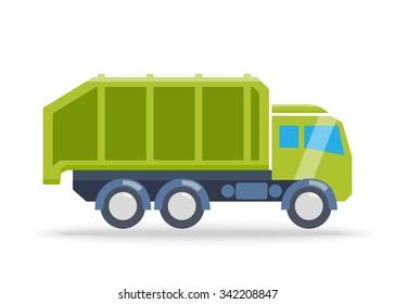 Garbage. Vector illustration
