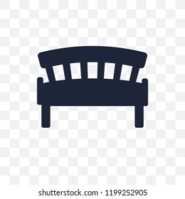 garden Bench transparent icon. garden Bench symbol design from Agriculture, Farming and Gardening collection. Simple element vector illustration on transparent background.