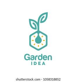 Garden / Plant Innovation Logo design inspiration