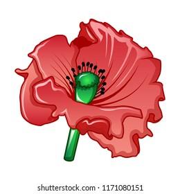 Poppy Cartoon Images Stock Photos Vectors Shutterstock