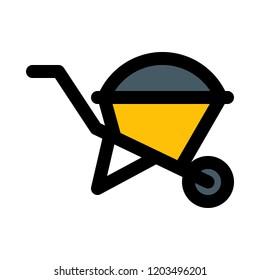Garden pushcart carriage