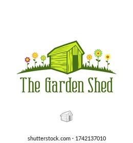 Garden Shed Logo Shed Vector