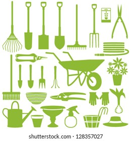 Gardening related icons 1