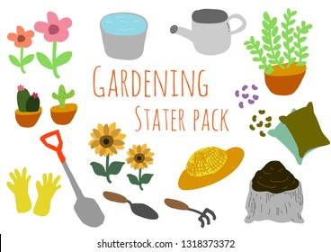Gardening Stater pack for your hobby