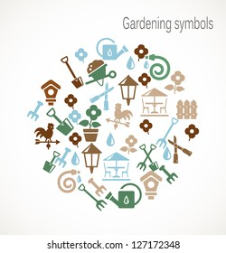 Gardening symbols