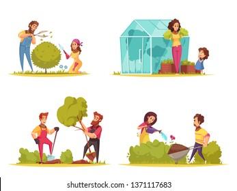 Cartoon Garden Images Stock Photos Vectors Shutterstock