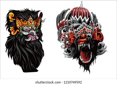 1000 Barong Bali Vector Stock Images Photos Vectors Shutterstock