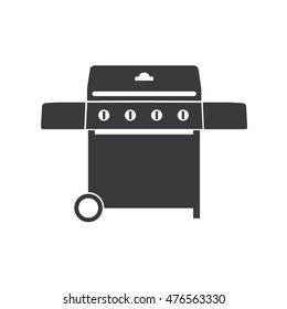 Gas Barbecue Grill Icon