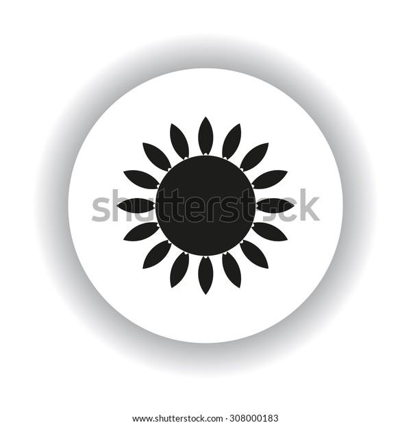gas burner gas stove. icon. vector design