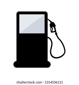 Gas fuel station . Design by Inkscape.