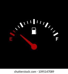 Gas gauage icon