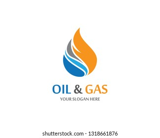 Gas and oil icon vector illustration
