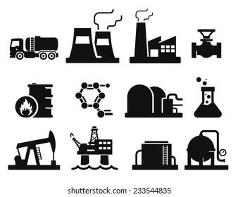 Gas and Oil icons set // 02