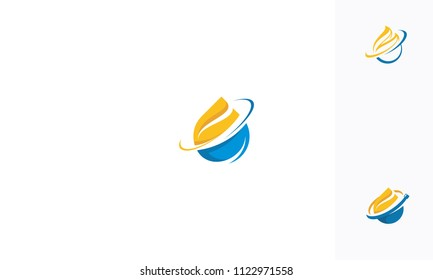gas and oil resources logo vector icon