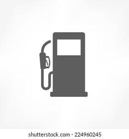 Gaspumpensymbol