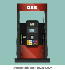 Gas pump illustration