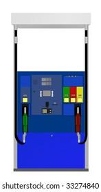 Gas pump illustration.