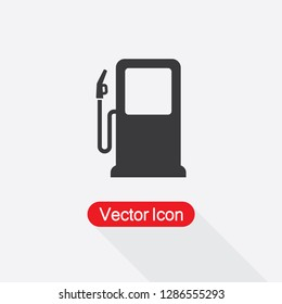 Gas Station Icon Vector Illustration Eps10