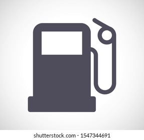 gas station icon vector. lorem ipsum Flat Design JPG