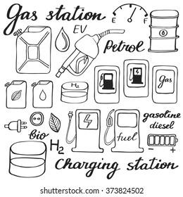 Petrol Station Cartoon Images, Stock Photos & Vectors | Shutterstock