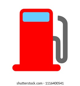 gas station symbol - gasoline pump, petrol symbol. energy sign