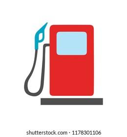 gas station symbol - gasoline pump, petrol symbol. energy sign