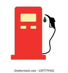 Gas station vector icon. filled flat sign for mobile concept and web design. Gas pump glyph icon. Symbol, logo illustration. Pixel perfect vector graphics