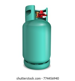 Gas tank lpg. Used for cooking and various industries. vector realistic file.