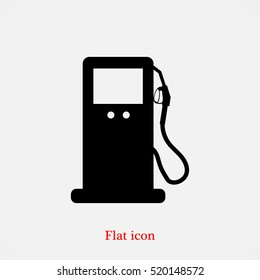 gas vector icon, vector best flat icon, EPS